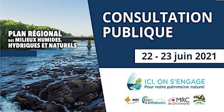 Consultation publique sur les actions de conservation - PRMHHN billets
