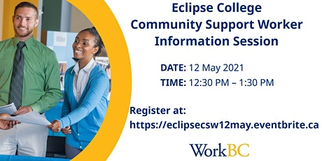 Accredited CSW Certificate: Eclipse College Virtual Information Session tickets