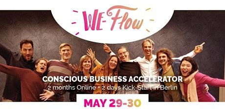 [Germany] We-Flow Conscious Business Accelerator in Berlin billets