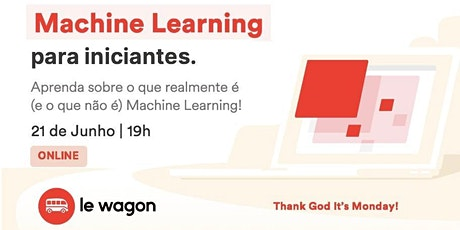 Machine Learning para iniciantes-Aprenda o que realmente é Machine Learning ingressos
