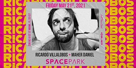 Ricardo Villalobos  at Space Park Miami tickets