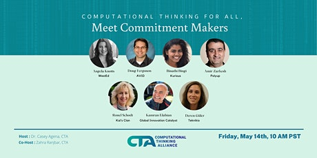 Computational Thinking for All, Meet Commitment Makers tickets