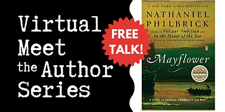 "Virtual Talk: ""Mayflower"" with Nathaniel Philbrick tickets"