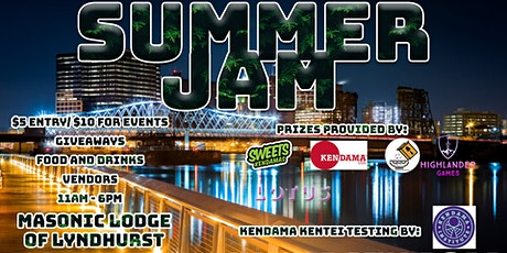 Kendama Summer Jam tickets
