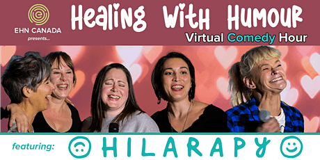 Healing With Humour Virtual Comedy Hour - 7:00 pm PT tickets