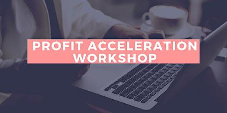Profit Acceleration Workshop with Irene Gutmann tickets