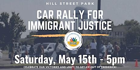Frederick Car rally for ImmigrantJustice//Caravana --justicia a inmigrantes tickets