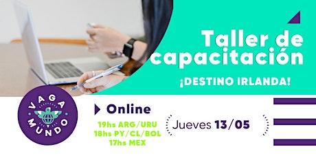 Taller de capacitación /  Work & Study Irlanda / VAGA-MUNDO boletos
