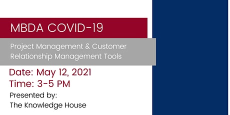 MBDA COVID-19 Project Management and Customer Relationship Management Tools tickets