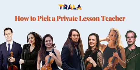 How to Pick a Violin Private Lesson Teacher tickets