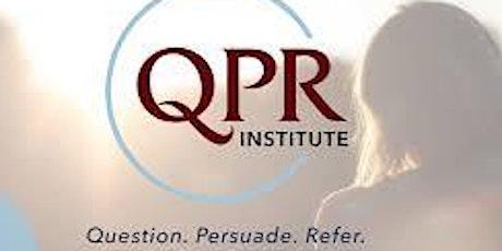 QPR- Basic Suicide Prevention ONLINE tickets