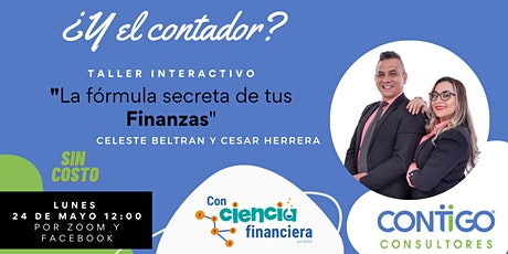 Taller: La Fórmula secreta de tus Finanzas Personales entradas