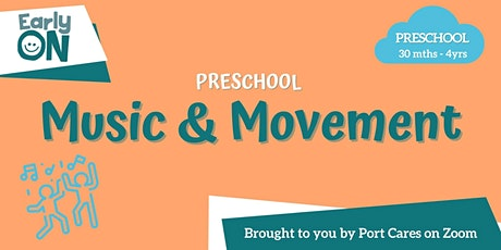 Preschool Music & Movement tickets