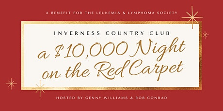 A $10,000 Night on the Red Carpet - Draw Down Benefitting LLS tickets
