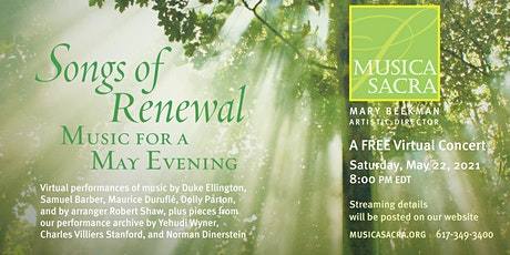 Songs of Renewal: Music for a May Evening tickets