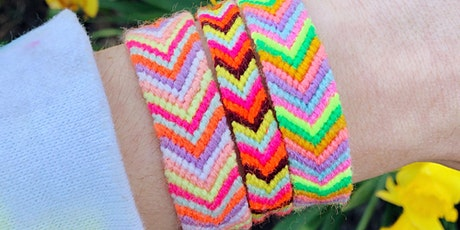 Chevron Friendship Bracelet Workshop tickets