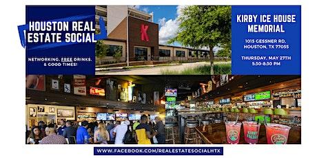 Houston Super Real Estate Social 5/27/21 tickets