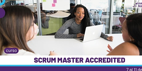 Curso Scrum Master Accredited entradas
