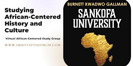 Sankofa University tickets