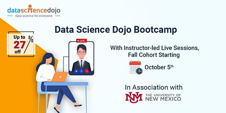 Instructor-Led Remote Data Science Bootcamp- Fall Cohort tickets