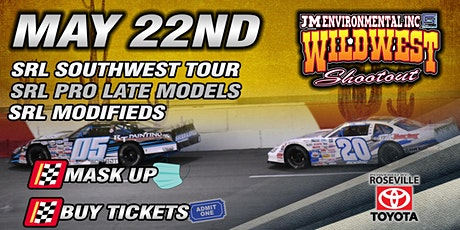 May 22nd, 2021 SRL Southwest Tour Series tickets