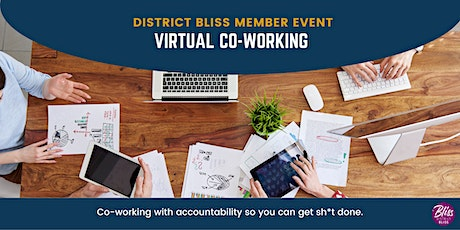 Virtual Co-Working with Accountability (Members-Only) tickets