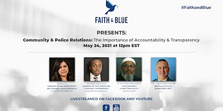 Community & Police Relations: Importance of Accountability & Transparency tickets
