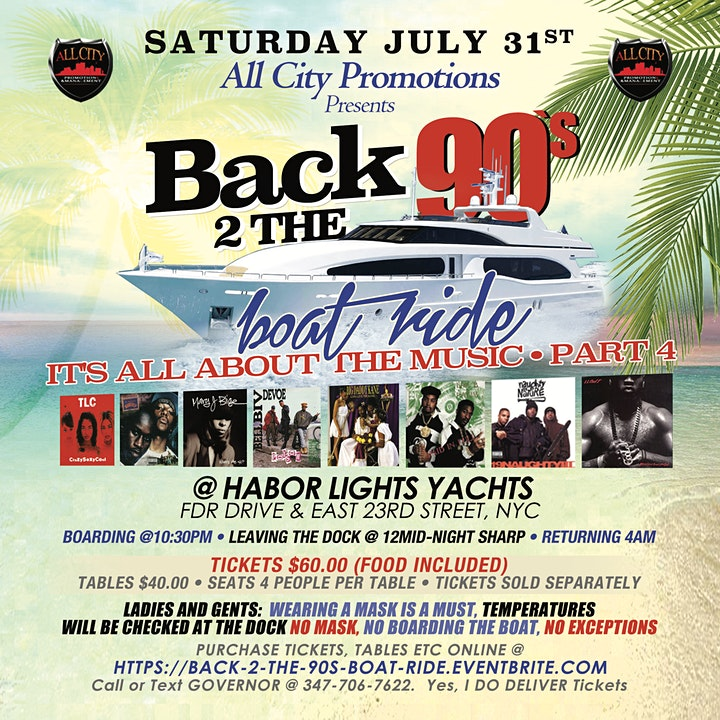 BACK 2 THE 90'S Boat Ride  Part 4   {It's all about the music} image