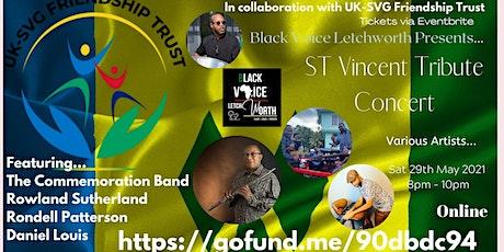 St Vincent Tribute Concert (BVL & UK-SVGFriendshipTrust) tickets