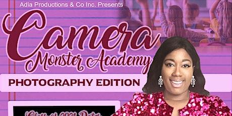 Camera Monster Academy-Teens tickets