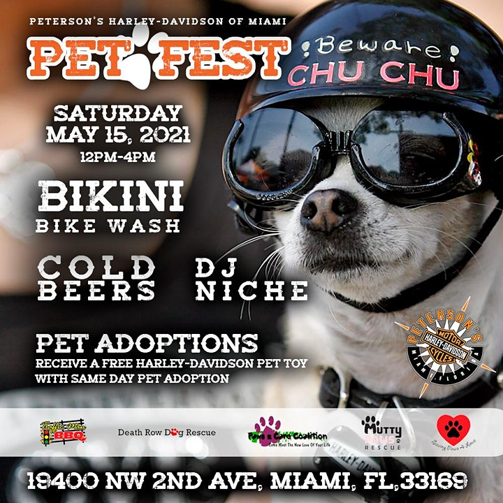 Pet Fest at Peterson's Harley-Davidson of Miami image