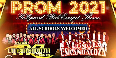 PROM 2021 CON BANDA tickets