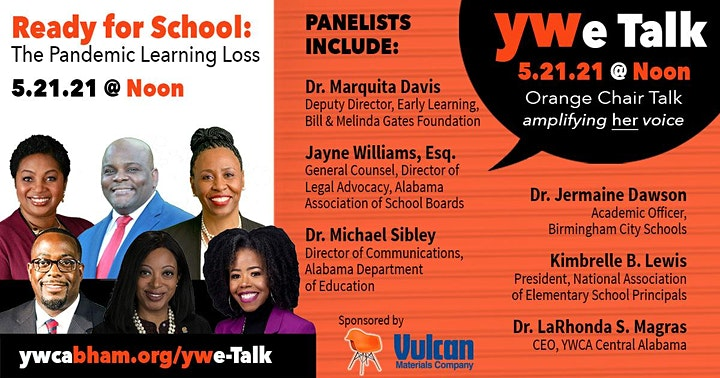 YWe Talk Orange Chair Series by YWCA Central Alabama image