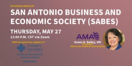 SABES Speaker Presentation: Susan R. Bailey, MD - President, AMA tickets