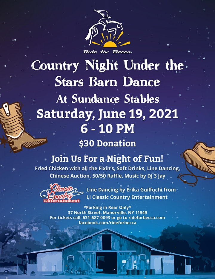 Country Night Under the Stars Barn Dance image