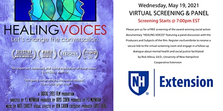 """Healing Voices"" Virtual Screening & Panel Discussion tickets"