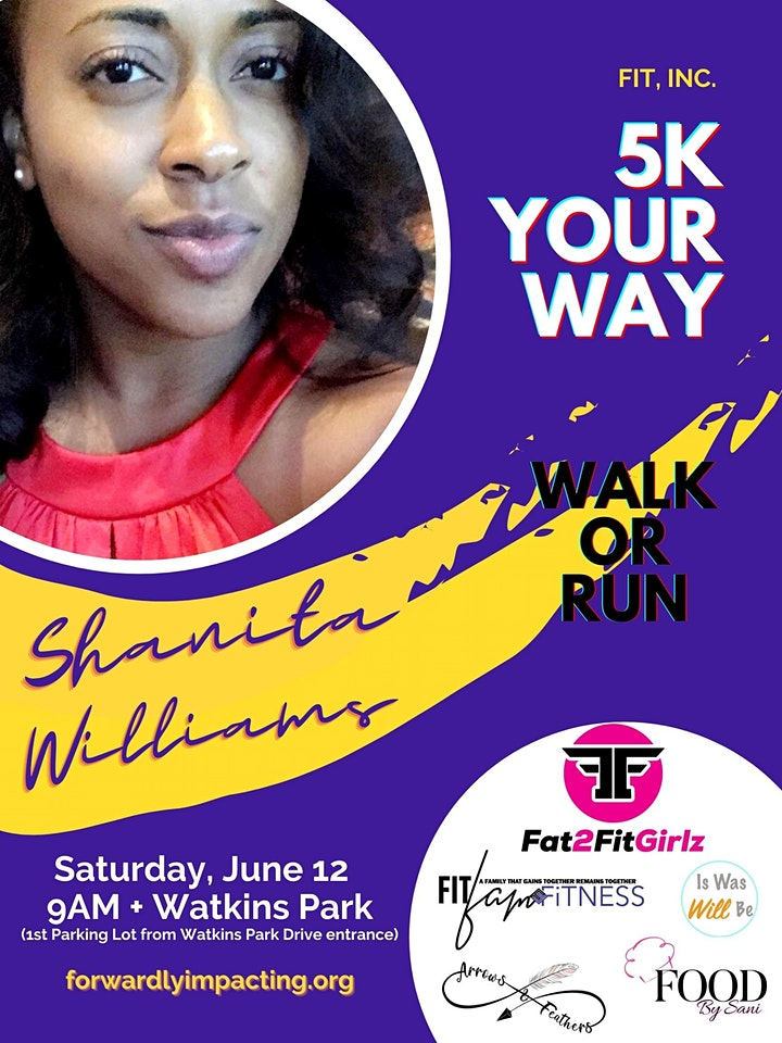 FAT2FITGIRLZ   4TH ANNUAL 5K YOUR WAY image