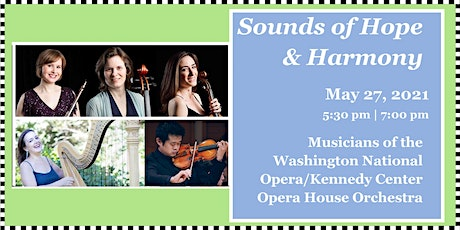 Sounds of Hope & Harmony: Off-Stage: Musical Gems from the Opera and Ballet tickets