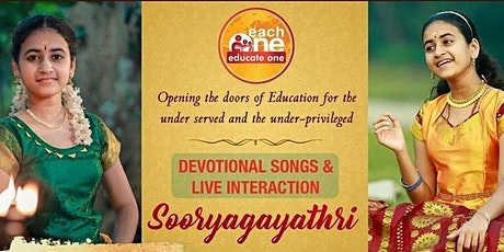 Devotional Songs and Live Interaction with Sooryagayathri tickets
