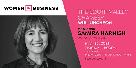 Women in Business Luncheon - Samira Harnish, Founder of Women of the World tickets