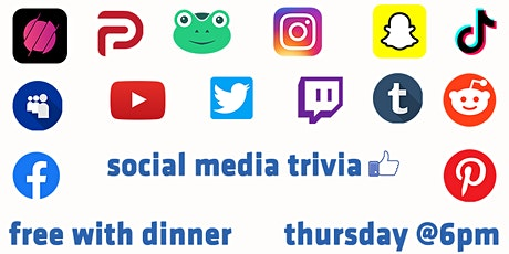 Thursday Trivia With Dinner - Social Media Edition! tickets