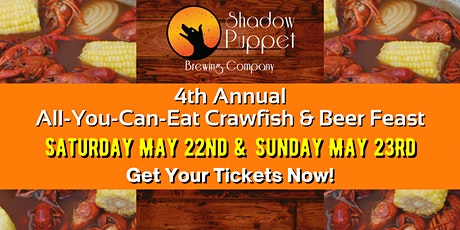 All You Can Eat Crawfish & Beer Feast tickets