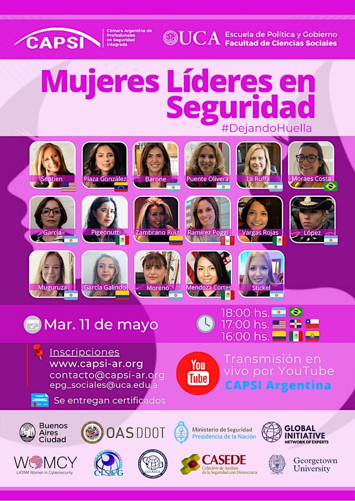 Imagen de 2do Encuentro Int. Mujeres Lideres en Seguridad