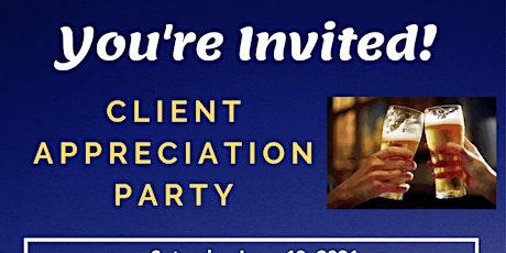 Client Appreciation Party tickets
