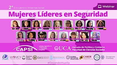 2do Encuentro Int. Mujeres Lideres en Seguridad entradas