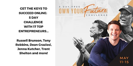 Own Your Future Challenge - 5 Day LIVE Event (Russell Brunson) tickets