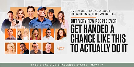 Own Your Future Challenge - 5 Day Event (With Top Entrepreneurs) tickets