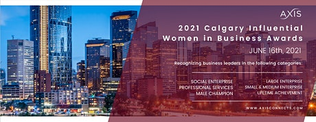 Calgary Influential Women in Business Awards tickets
