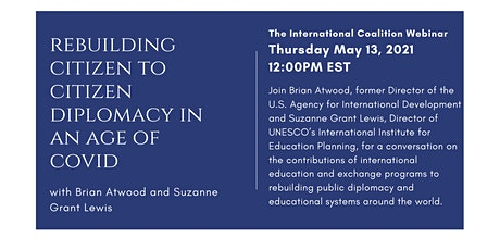Rebuilding Citizen to Citizen Diplomacy in an Age of COVID tickets