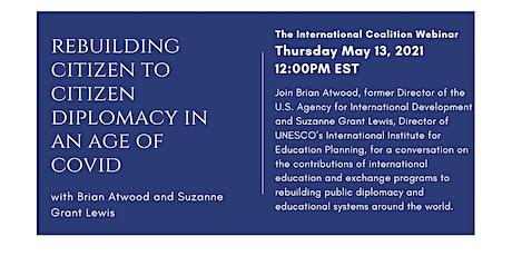 Rebuilding Citizen to Citizen Diplomacy in an Age of COVID biglietti